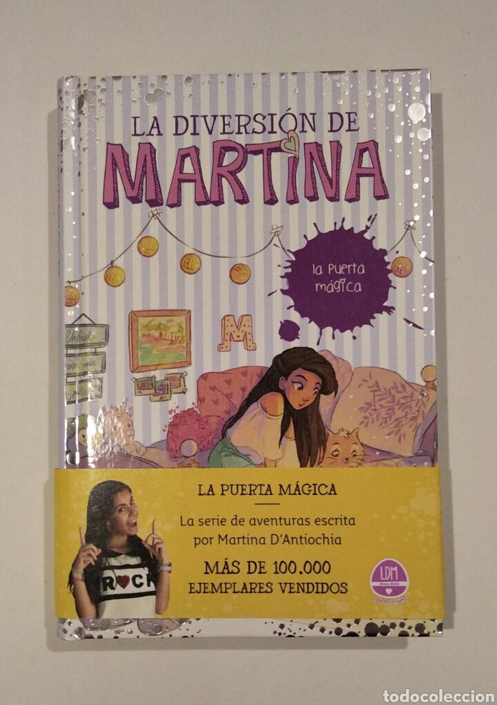 """LIBRO """"LA DIVERSIÓN DE MARTINA, LA PUERTA MÁGICA"""", NÚM.3, ED.MONTENA. MARTINA D'ANTIOCHIA. (Libros Nuevos - Literatura Infantil y Juvenil - Literatura Juvenil)"""