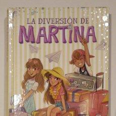 """Livres: LIBRO """"LA DIVERSIÓN DE MARTINA, FIN DE CURSO EN EL PARAÍSO"""", NÚM.4, ED. MONTENA. MARTINA D'ANTIOCHIA. Lote 227757875"""