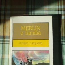 Libros: MERLIN E FAMILIA ALVARO CUNQUEIRO EDITORIAL GALAXIA GALLEGO. Lote 228117905