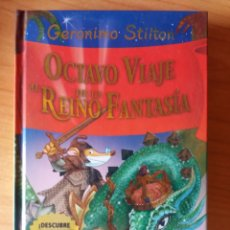 Livres: EL OCTAVO VIAJE AL REINO DE LA FANTASÍA GERONIMO STILTON. Lote 228140750