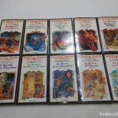 Libros: LOTE 10 TOMOS DUNGEOS & DRAGONS AVENTURA SIN FIN Nº 5-6-7-8-9-10-11-12-14 -20 - AÑOS 80. Lote 228811175