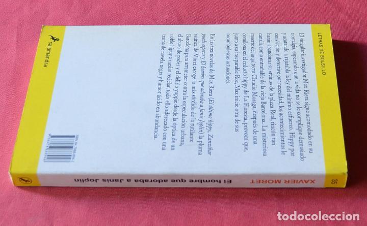 Libros: EL HOMBRE QUE ADORABA A JANIS JOPLIN - MAX RIERA, DETECTIVE ALTERNATIVO - XAVIER MORET - SALAMANDRA - Foto 2 - 228953250