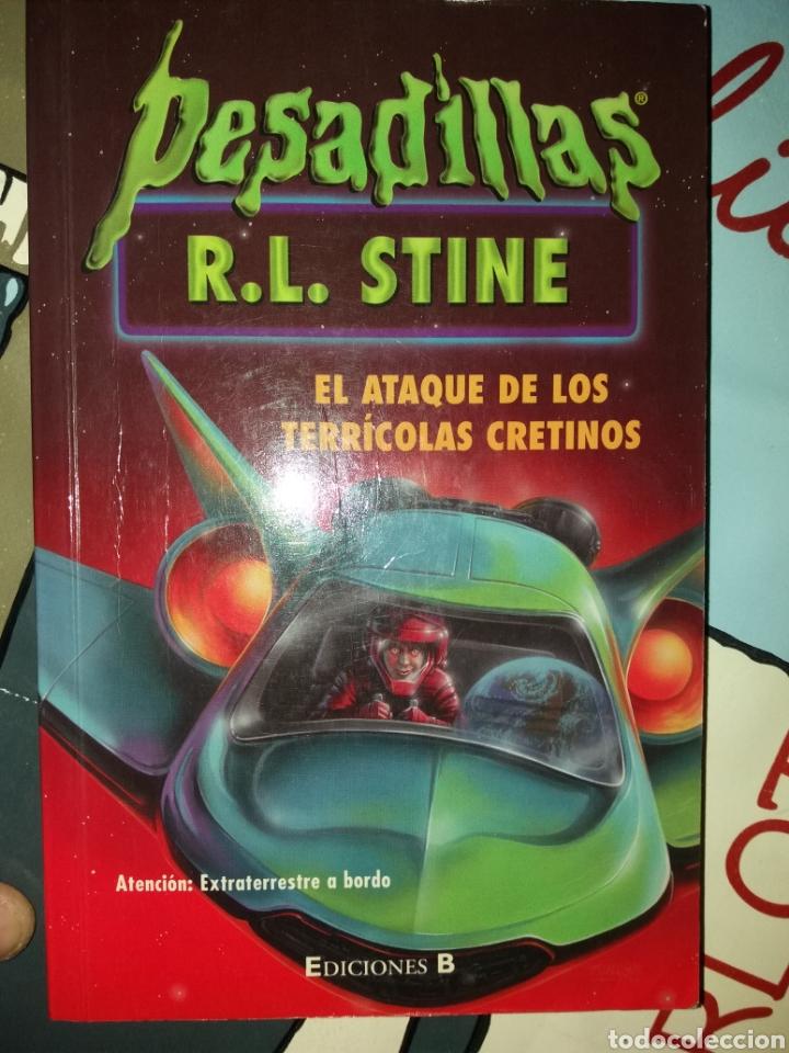EL ATAQUE DE LOS TERRICOLAS CRETINOS R.L. STINE (Libros Nuevos - Literatura Infantil y Juvenil - Literatura Juvenil)