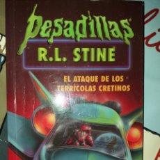 Livres: EL ATAQUE DE LOS TERRICOLAS CRETINOS R.L. STINE. Lote 228988370