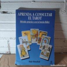 Livres: APRENDA A CONSULTAR EL TAROT MÉTODO PRÁCTICO HAJO BANZHAF. Lote 230826565