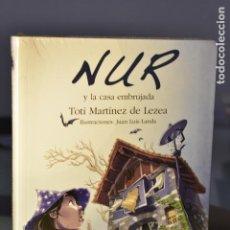 Libros: NUR Y LA CASA EMBRUJADA- TOTI MARTÍNEZ DE LEZEA- EDITORIAL EREIN. Lote 230870335