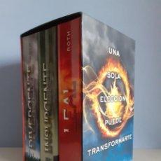 Libros: ESTUCHE TRILOGÍA DIVERGENTE (VERONICA ROTH). EDITORIAL RBA.. Lote 230987775
