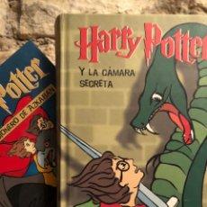 Livres: HARRY POTTER Y EL PRISIONERO DE AZKABAN Y LA CÁMARA SECRETA. Lote 231094405