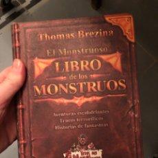 Livres: EL MONSTRUOSO LIBRO DE LOS MONSTRUOS THOMAS BREZINA. Lote 231241665