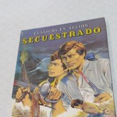 Libros: ANTIGUO LIBRO CLÁSICOS EN ACCIÓN SECUESTRADO. Lote 233801940