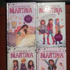Livres: LA DIVERSIÓN DE MARTINA. 4 EJEMPLARES. Lote 235157510