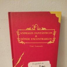 Livres: ANIMALES FANTASTICOS & DÓNDE ENCONTRARLOS. Lote 238802915