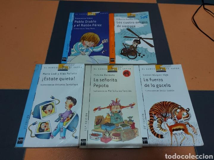 LOTE 5 LIBROS BARCO DE VAPOR (Libros Nuevos - Literatura Infantil y Juvenil - Literatura Juvenil)