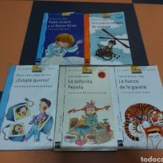 Livres: LOTE 5 LIBROS BARCO DE VAPOR. Lote 239909440
