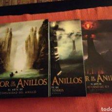 Libros: LOTE LIBROS EL ARTE DE EL SEÑOR DE LOS ANILLOS.. Lote 240277805