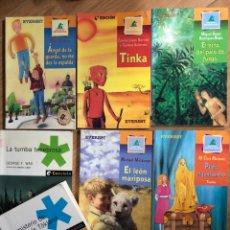 Livros: LOTE 7 LIBROS EVEREST COL MONTAÑA ENCANTADA, CAMALEON. Lote 241706895
