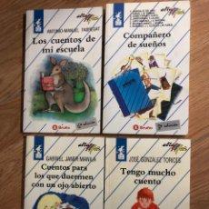 Libros: LOTE 4 LIBROS BRUÑO COL ALA DELTA - JOSE GONZALEZ - GABRIEL JANER - FABREGAT. Lote 241707245