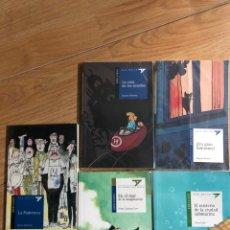 Libros: LOTE 5 LIBROS EDELVIVES - ALA DELTA - ULISES CABAL DAGMAR MUELLER CALATAYUD. Lote 241708050