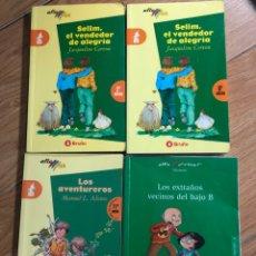 Libros: LOTE 4 LIBROS BRUÑO COLECCIÓN ALA DELTA. Lote 241708170