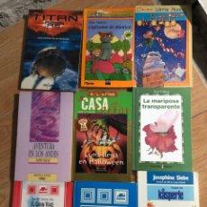 Livres: LOTE 9 LIBROS DISNEY MIÑON KASPERLE CALLEJA STINE. Lote 241708515