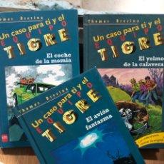 Livros: LOTE 3 LIBROS EQUIPO TIGRE THOMAS BREZINA. Lote 241709720