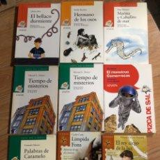 Livres: LOTE 9 LIBROS ANAYA SAN PABLO LA BRUJULA SOPA DE LIBROS. Lote 241710130