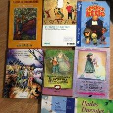 Livres: LOTE 8 LIBROS AUSTRAL JUVENIL DISNEY NAUTILUS CHRISTINE NÖSTLINGER. Lote 241710550