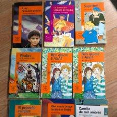 Livres: LOTE 9 LIBROS ALFAGUARA PEQUEÑO VAMPIRO PETER TABEM PIRATAS. Lote 241711325