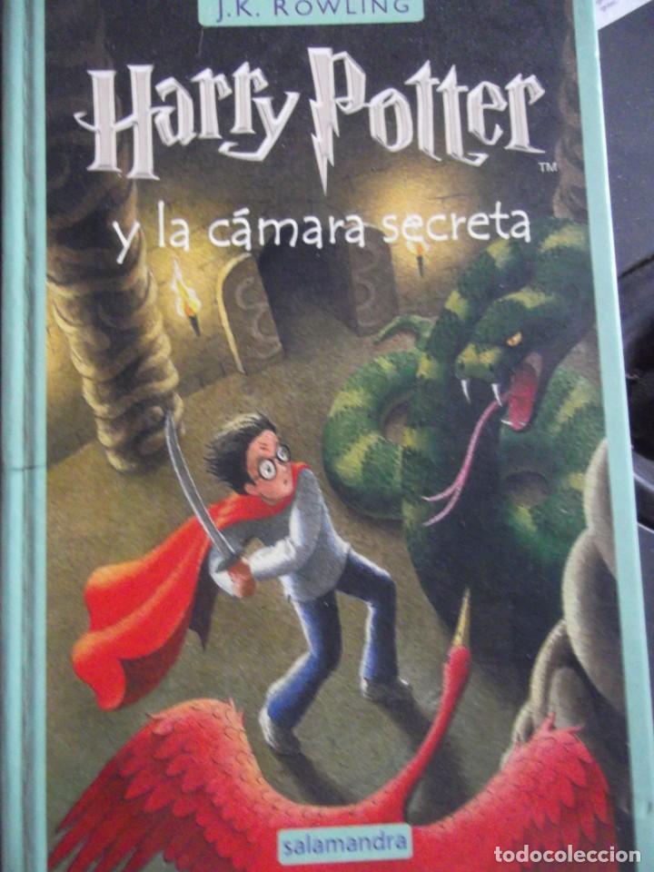 HARRY POTTER Y LA CÁMARA SECRETA (Libros Nuevos - Literatura Infantil y Juvenil - Literatura Juvenil)