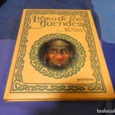 Libros: LIBRERIA ARKANSAS PRECIOSO Y ENORME LIBRO 1999 NIALL MCNAMARA LIBRO DE LOS DUENDES 1999 MONTENA. Lote 243578230