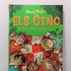 Libros: ELS CINC ALTRA VEGADA JUNTS DE ENID BLYTON AÑO 2020 EDIT JOVENTUT. Lote 245168945