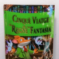 Libros: CINQUE VIATGE AL REGNE DE LA FANTASIA DE GERONIMO STILTON EDIT ESTRELLA POLAR. Lote 245173265
