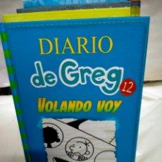 Livros: JEFF KINNEY.DIARIO DE GREG .12 .( VOLANDO VOY ).RBA. Lote 246267625