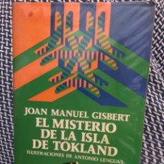 Livros: JOAN MANUEL GISBERT - EL MISTERIO DE LA ISLA DE TÖKLAND - AUSTRAL JUVENIL. Lote 247792085
