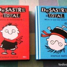 Libros: 2 LIBROS DE LA COLECCIÓN DESASTRE & TOTAL. Lote 249077860