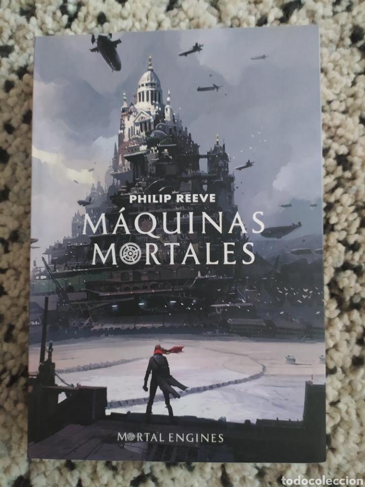 MÁQUINAS MORTALES (Libros Nuevos - Literatura Infantil y Juvenil - Literatura Juvenil)