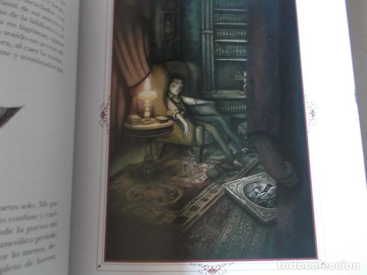 Libros: CUENTOS MACABROS / EDGAR ALLAN POE - ILUSTRADO POR BENJAMÍN LACOMBE / EDELVIVES - Foto 2 - 249305555