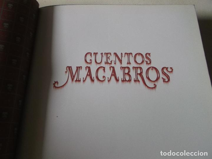 Libros: CUENTOS MACABROS / EDGAR ALLAN POE - ILUSTRADO POR BENJAMÍN LACOMBE / EDELVIVES - Foto 5 - 249305555