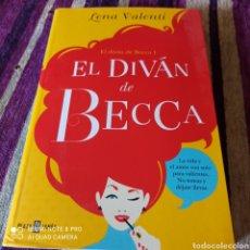 "Libros: LITERATURA JUVENIL, LIBRO DE LENA VALENTÍ,""EL DIVÁN DE BECCA"". Lote 252474605"