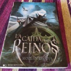 """Libros: MORGAN RHODES, """"LA CAÍDA DE LOS REINOS"""" LITERATURA JUVENIL.. Lote 252475300"""
