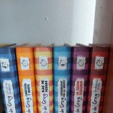 Libros: LOTE DIARIO DE GREG. Lote 252605375