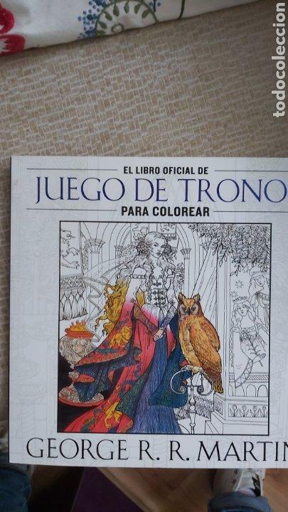 LIBRO DIBUJOS JUEGO DE TRONOS (Libros Nuevos - Literatura Infantil y Juvenil - Literatura Juvenil)