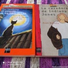 Libros: LOTE BARCO DE VAPOR, EL MÍSTERIO DE LOS HIJOS DE LU'A, LA CAZADORA DE INDIANA JONES.. Lote 253175865
