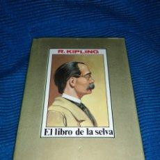 Libros: EL LIBRO DE LA SELVA, R. KIPLING, EDITORS S. A.. Lote 253776685
