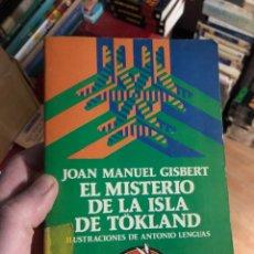 Libros: JOAN MANUEL GISBERT EL MISTERIO DE LA ISLA DE TÖKLAND ILUSTRACIONES ANTONIO LENGUAS. Lote 253822880