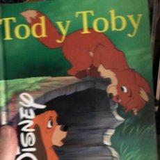 Libros: TOD Y TOBY - GAVIOTA - AÑOS 90. Lote 254064110