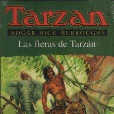 Libros: LAS FIERAS DE TARZÁN. EDGAR RICE BURROUGHS. EDHASA. 1995.RETRACTILADO.. Lote 254133175