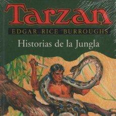 Libros: TARZÁN. HISTORIAS DE LA JUNGLA. EDGAR RICE BURROUGHS. EDHASA. 1997.RETRACTILADO.. Lote 254135335