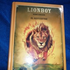 Libros: LIONBOY, ZIZOU CORDER, EL SECUESTRO. BIBLIOTECA FANTÁSTICA JUVENIL EDITORIAL PLANETA AGOSTINI 2006. Lote 254803225