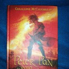 Libros: PETER PAN ROJO ESCARLATA, GERALDINE MC. CAUGHREAN, ALFAGUARA-JUVENIL, SEGUNDA PARTE OFICIAL. Lote 254814070